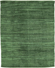 Kelim Chenille - Skovgrøn tæppe CVD17112