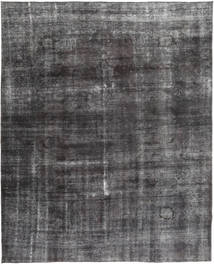 Colored Vintage Rug 285X362 Authentic  Modern Handknotted Dark Grey/Black Large (Wool, Pakistan)