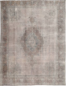 Colored Vintage Rug 284X368 Authentic  Modern Handknotted Light Grey/Dark Grey Large (Wool, Pakistan)