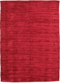 Kilim Chenille - Deep Red rug CVD17103