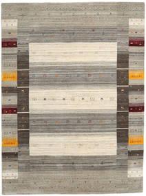 Loribaf Loom Designer Matto 210X290 Moderni Käsinsolmittu Vaaleanruskea/Vaaleanharmaa (Villa, Intia)