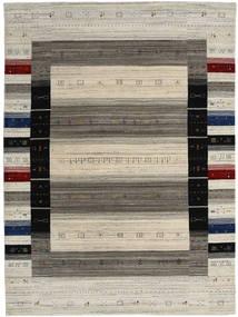 Loribaf ルーム Designer 絨毯 210X290 モダン 手織り 薄い灰色/濃いグレー (ウール, インド)
