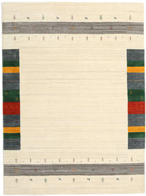 Loribaf Loom Designer - Beige Tæppe 210X290 Ægte Moderne Håndknyttet Beige/Mørk Beige (Uld, Indien)