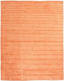 Kelim Chenille - Fersken_Oransje Teppe 240X300 Ekte Orientalsk Håndvevd Lyserosa/Mørk Beige/Orange ( India)