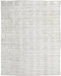 Kelim Chenille - Silbergrau Teppich CVD17086