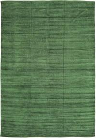 Kelim Chenille - Waldgrün Teppich CVD17109