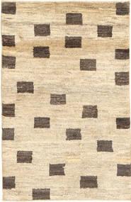 Gabbeh (Persja) Dywan 78X122 Nowoczesny Tkany Ręcznie Beżowy/Ciemnobeżowy (Wełna, Persja/Iran)