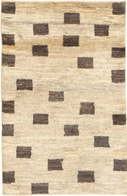 Gabbeh Persia Rug 78X122 Authentic  Modern Handknotted Beige/Dark Beige (Wool, Persia/Iran)