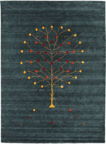 Loribaf Loom Designer - Petrol carpet CVD17014