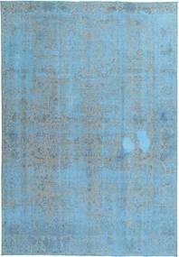 Colored Vintage Szőnyeg 224X327 Modern Csomózású Világoskék/Türkiz Kék (Gyapjú, Perzsia/Irán)