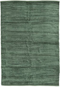 Kelim Chenille - Waldgrün Teppich CVD17114