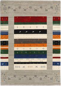 Loribaf Loom Designer Dywan 160X230 Nowoczesny Tkany Ręcznie Jasnoszary/Beżowy (Wełna, Indie)