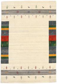 Loribaf ルーム Designer - ベージュ 絨毯 120X180 モダン 手織り ベージュ/濃いグレー (ウール, インド)