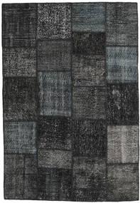 パッチワーク 絨毯 159X232 モダン 手織り 濃いグレー (ウール, トルコ)
