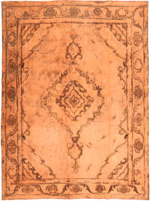Colored Vintage Teppe 280X375 Ekte Moderne Håndknyttet Orange/Brun Stort (Ull, Persia/Iran)