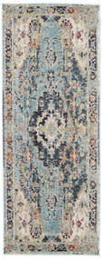 Manami Rug 80X200 Modern Hallway Runner  Light Grey/Light Blue ( Turkey)
