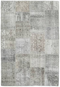 Patchwork Rug 159X233 Authentic  Modern Handknotted Light Grey (Wool, Turkey)