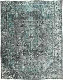 Colored Vintage Rug 274X347 Authentic  Modern Handknotted Light Grey/Light Blue Large (Wool, Persia/Iran)