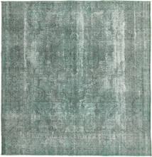 Colored Vintage Dywan 285X300 Nowoczesny Tkany Ręcznie Kwadratowy Ciemnoszary/Jasnoszary Duży (Wełna, Persja/Iran)