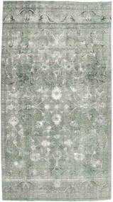 Colored Vintage Rug 180X320 Authentic  Modern Handknotted Light Grey/Dark Grey (Wool, Persia/Iran)