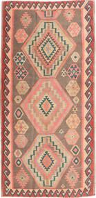 Kilim Fars Rug 155X325 Authentic  Oriental Handwoven Light Brown/Dark Beige (Wool, Persia/Iran)