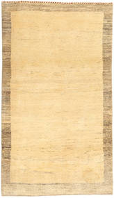 Gabbeh Persia Rug 96X173 Authentic  Modern Handknotted Beige/Dark Beige/Light Brown (Wool, Persia/Iran)