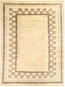 Gabbeh Persia Rug 214X287 Authentic  Modern Handknotted Light Pink/Beige (Wool, Persia/Iran)