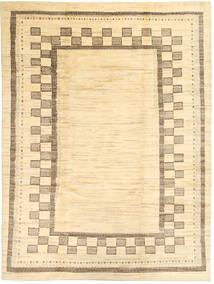 Gabbeh Persia Teppe 214X287 Ekte Moderne Håndknyttet Lyserosa/Beige (Ull, Persia/Iran)