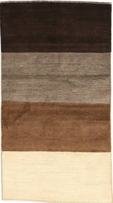 Gabbeh Persia Teppe 73X144 Ekte Moderne Håndknyttet Mørk Brun/Beige/Brun (Ull, Persia/Iran)