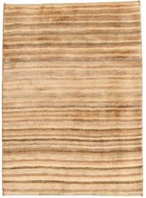 Gabbeh Persisk Matta 101X136 Äkta Modern Handknuten Mörkbeige/Ljusbrun (Ull, Persien/Iran)