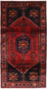 Hamadan Matta 105X198 Äkta Orientalisk Handknuten Mörkröd (Ull, Persien/Iran)