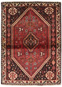 Sziraz Dywan 113X155 Orientalny Tkany Ręcznie Ciemnobrązowy/Ciemnoczerwony (Wełna, Persja/Iran)