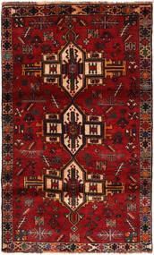 Ghashghai Matto 108X180 Itämainen Käsinsolmittu Tummanpunainen/Ruoste (Villa, Persia/Iran)