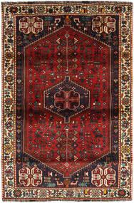 Ghashghai Tæppe 112X171 Ægte Orientalsk Håndknyttet Mørkerød/Sort (Uld, Persien/Iran)