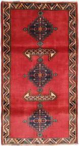 Ghashghai Matta 110X204 Äkta Orientalisk Handknuten Roströd/Mörkröd (Ull, Persien/Iran)