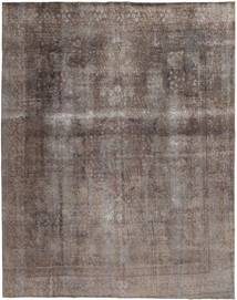 Colored Vintage Rug 283X360 Authentic  Modern Handknotted Light Grey/Light Brown Large (Wool, Pakistan)
