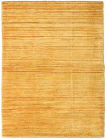 Gabbeh Perzsa Szőnyeg 104X140 Modern Csomózású Narancssárga/Világosbarna (Gyapjú, Perzsia/Irán)