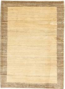 Gabbeh Persisk Matta 104X142 Äkta Modern Handknuten Beige/Mörkbeige/Ljusbrun (Ull, Persien/Iran)