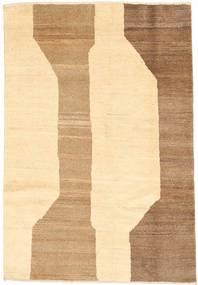 Gabbeh Persia Rug 98X140 Authentic  Modern Handknotted Beige/Dark Beige (Wool, Persia/Iran)