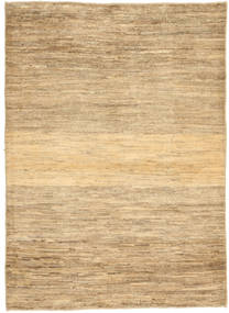 Gabbeh Persia Rug 103X141 Authentic  Modern Handknotted Light Brown/Dark Beige (Wool, Persia/Iran)