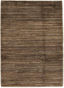 Gabbeh Persia Rug 107X148 Authentic  Modern Handknotted Brown/Light Brown (Wool, Persia/Iran)