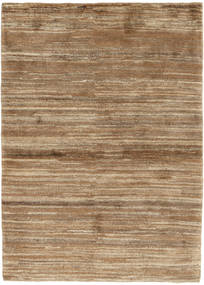Gabbeh Persia Rug 106X146 Authentic  Modern Handknotted Light Brown/Brown (Wool, Persia/Iran)