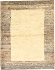 Gabbeh Persia Rug 110X143 Authentic  Modern Handknotted Light Brown/Yellow/Beige (Wool, Persia/Iran)