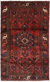 Hamadan Matto 116X190 Itämainen Käsinsolmittu Tummanpunainen/Musta (Villa, Persia/Iran)