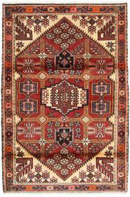 Afshar/Sirjan Tappeto 119X175 Orientale Fatto A Mano Blu Scuro/Marrone (Lana, Persia/Iran)