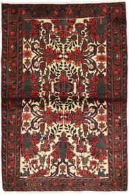 Hamadan Alfombra 100X150 Oriental Hecha A Mano Rojo Oscuro/Marrón Oscuro (Lana, Persia/Irán)