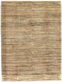 Gabbeh Persia Rug 108X146 Authentic  Modern Handknotted Light Brown/Dark Beige (Wool, Persia/Iran)