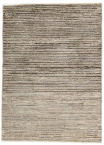 Gabbeh Persia Rug 97X133 Authentic  Modern Handknotted Beige/Light Grey (Wool, Persia/Iran)