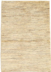 Gabbeh Persia Rug 98X140 Authentic  Modern Handknotted Dark Beige/Beige (Wool, Persia/Iran)