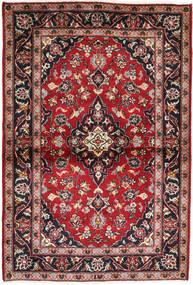 Keshan Rug 99X150 Authentic Oriental Handknotted Dark Red/Brown (Wool, Persia/Iran)